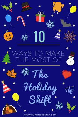Lippincott nursingcenter 10 ways to make the most of the holiday nursing shiftg fandeluxe Images