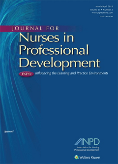 Image of Journal for Nurses in Professional Development