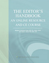 The Editor's Handbook: An Online Resource and CE Course
