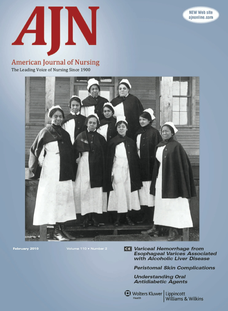 AJN, American Journal of Nursing