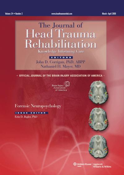 Traumatic Brain Injury And Forensic Neuropsychology Article Nursingcenter