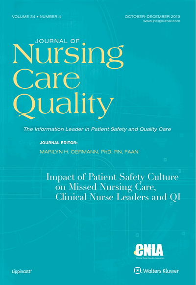 Journal of Nursing Care Quality