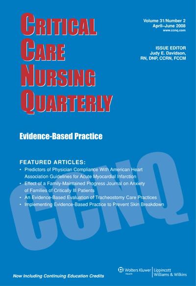 Critical Care Nurse Intern Program: Addressing Psychological