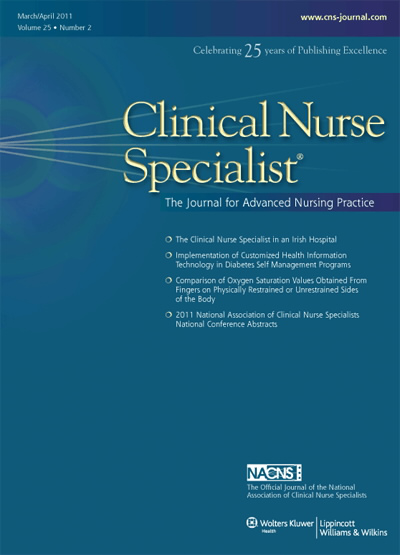2011 National Association of Clinical Nurse Specialists