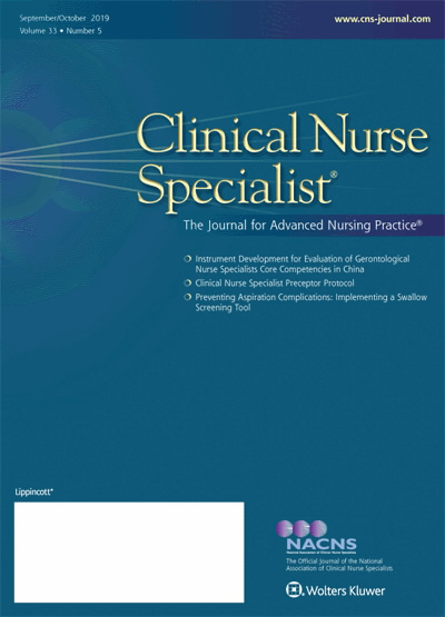 Clinical Nurse Specialist: The Journal for Advanced Nursing