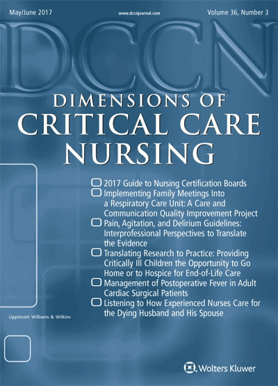 Dimensions of Critical Care Nursing