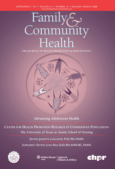 Peer Relations, Adolescent Behavior, and Public Health Research and