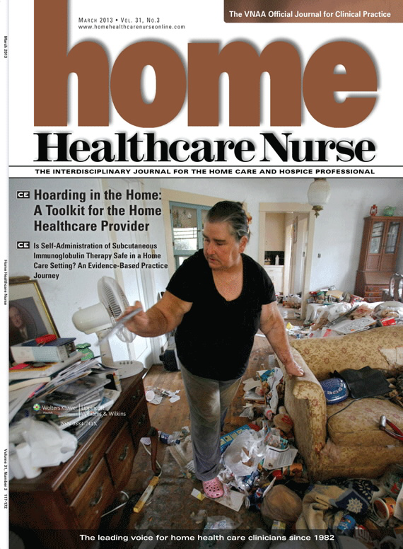 Hoarding in the Home: A Toolkit for the Home Healthcare Provider