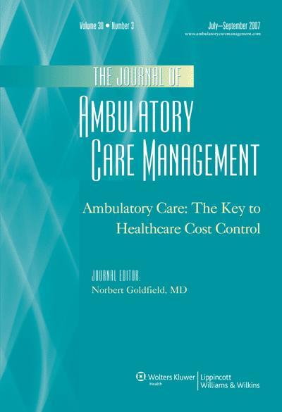 A Consumer-Driven Healthcare Cost Control Agenda: Health