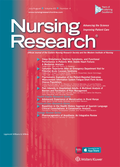 Health Communication Research for Nursing Science and