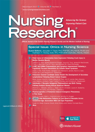 Eastern Nursing Research Society: 29th Annual Scientific