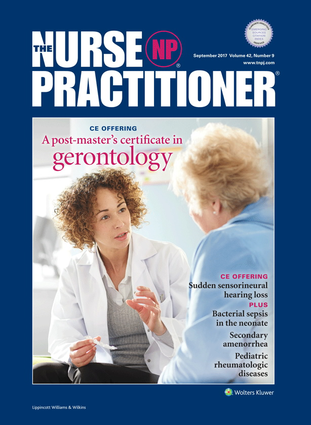 A Post Masters Advanced Certificate In Gerontology For Nps Ce