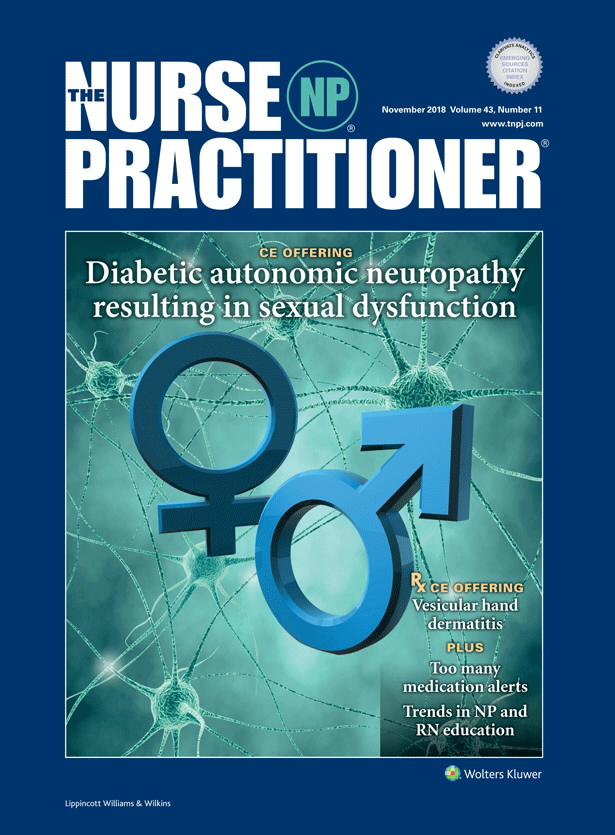 Diabetic autonomic neuropathy resulting in sexual
