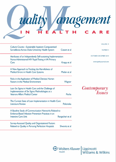 Lean Six Sigma in Health Care and the Challenge of