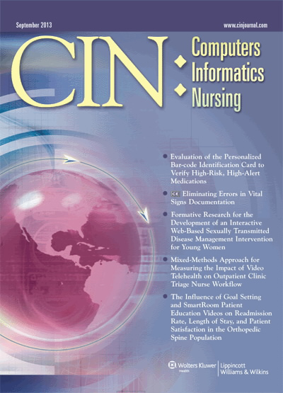 CIN: Computers, Informatics, Nursing
