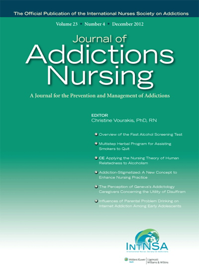 Journal of Addictions Nursing