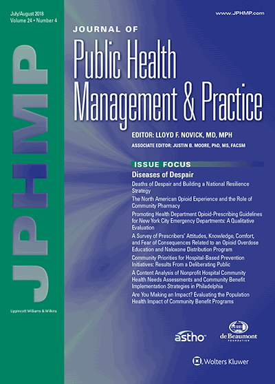 Journal of Public Health Management & Practice