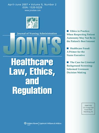 Legal Briefs   Article   NursingCenter