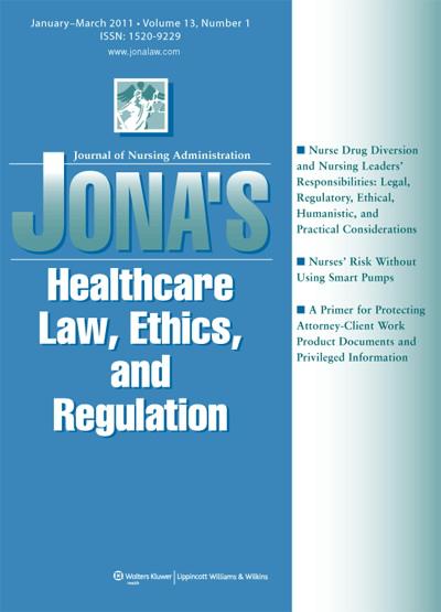 Nurse Drug Diversion and Nursing Leader's Responsibilities: Legal
