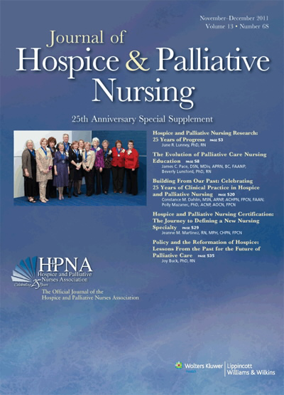 Hospice and Palliative Nursing Certification: The Journey to ...