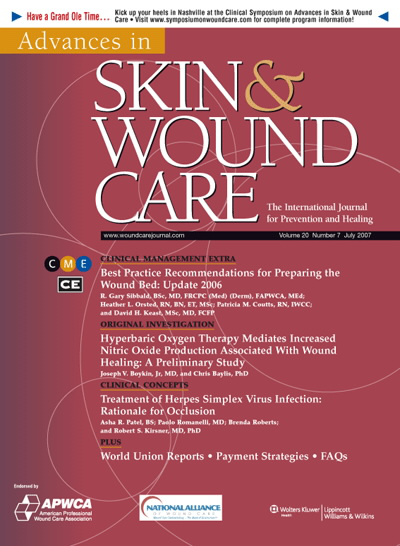 Editorial: What is Bioburden? The Link to Chronic Wounds | Article ...