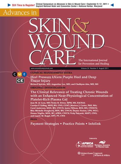 Heel Pressure Ulcers: Purple Heel and Deep Tissue Injury