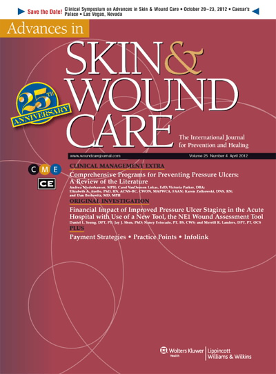 Advances in Skin & Wound Care: The Journal for Prevention and Healing