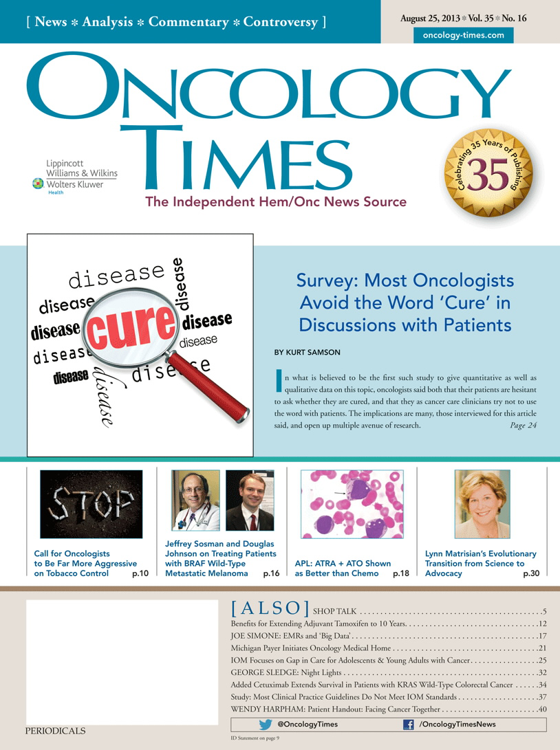 iPad Exclusive! Special ASCO News Edition of Audio Journal