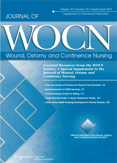 Source Journal Of Wound Ostomy And Continence Nursing