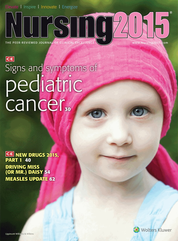 Recognizing subtle signs and symptoms of pediatric cancer