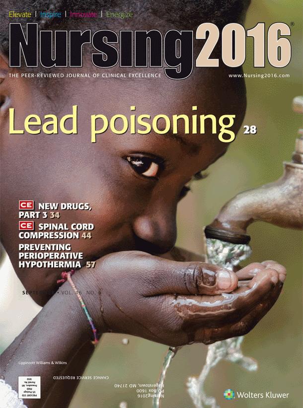 image of Nursing journal