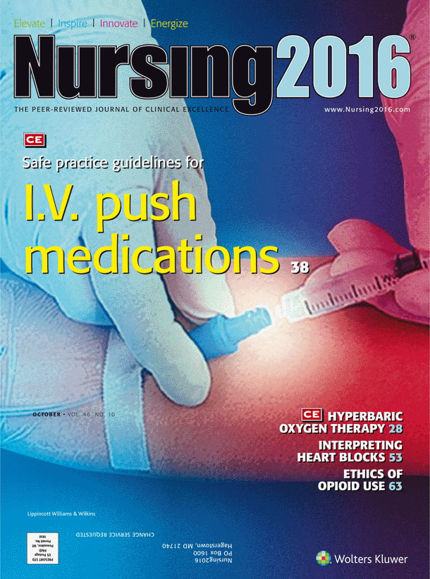 Evidence-based safe practice guidelines for I V  push medications