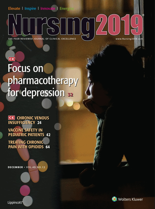 Focus on pharmacotherapy for depression | CE Article
