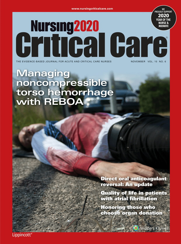 Nursing2020 Critical Care