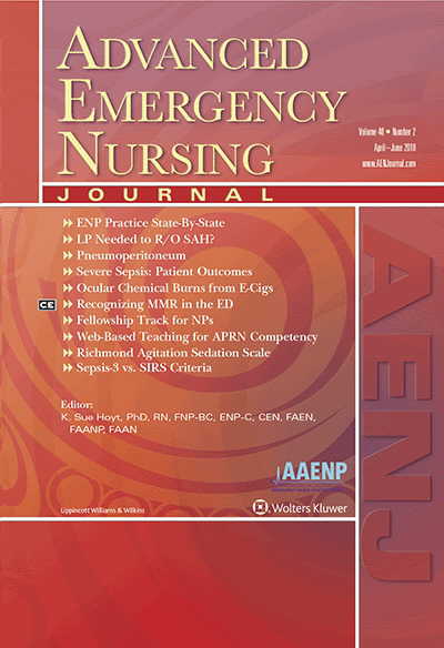Advanced Emergency Nursing Journal