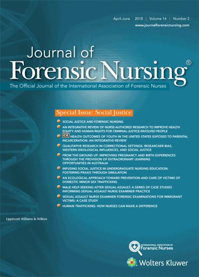 Social Justice And Forensic Nursing Article Nursingcenter