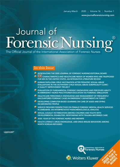 Evaluation Of Fundamental Forensic Knowledge And Perceived Ability In Emergency Nurse Practitioner Education Via Forensic Simulation Article Nursingcenter