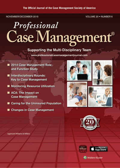 What Case Managers Should Know About Their Roles and Functions: A ...