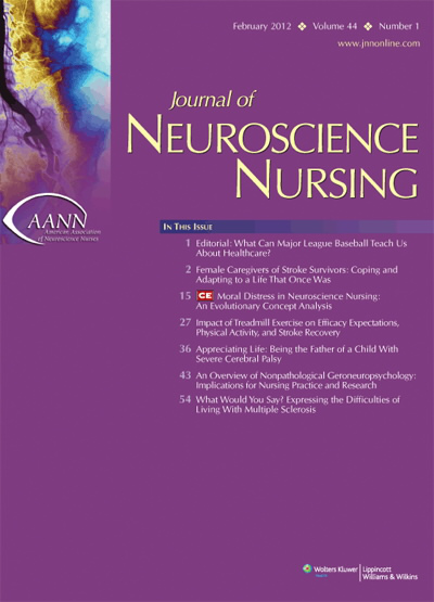The Long-Term Experience of Family Life After Stroke | Article