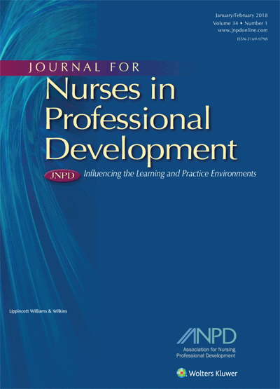 Journal for Nurses in Professional Development
