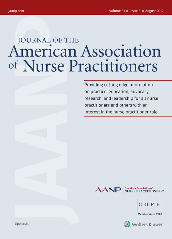 Journal of the American Association of Nurse Practitioners