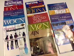 How do you write a scholarly research paper about a nursing journal?