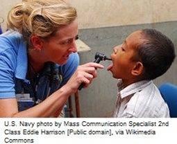 US_Navy_100812-N-4044H-247_Suzanne_Harwood,_a_Latter-day_Saints_Charities_volunteer_nurse_practitioner,_embarked_aboard_the_Military_Sealift_Command_hospital_ship_USNS_Mercy_(T-AH_19).jpg